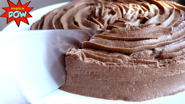 chocolate peanut butter protein cake recipe