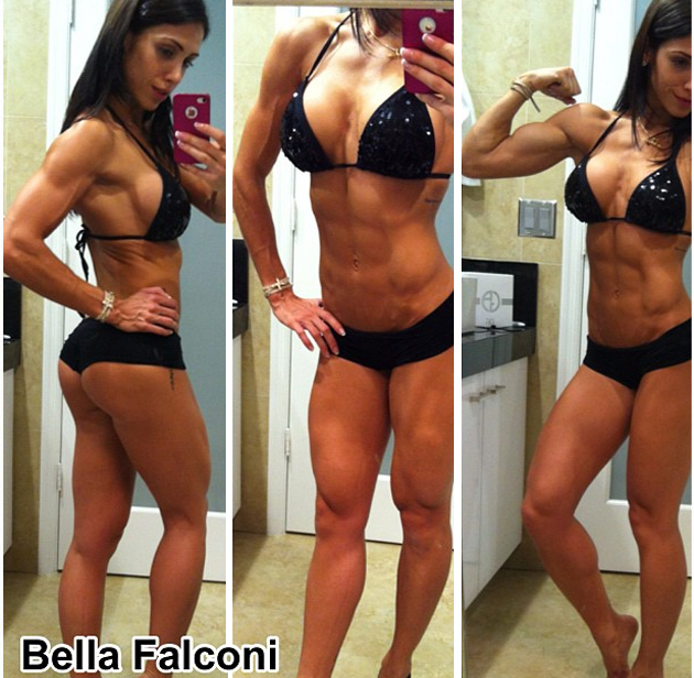 Bella falconi interview ripped fitness model talks with