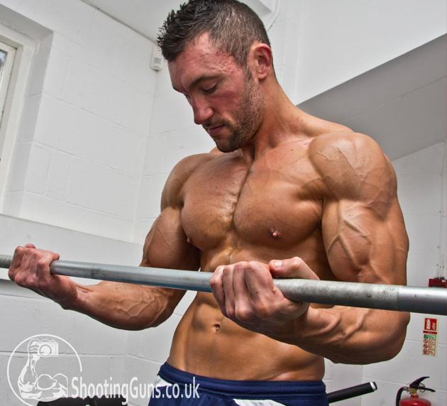 Jason Goodale Biceps arms