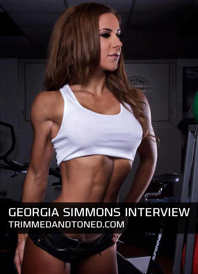 Georgia-Simmons-Workout-Routine-Plans
