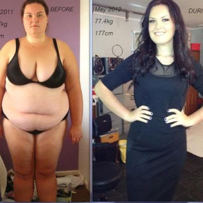 weight loss motivation   the most amazing female weight