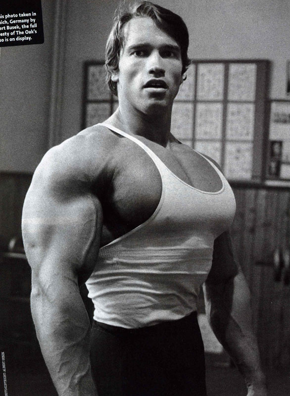 How big were Arnold's arms? | Sherdog Forums | UFC, MMA ...
