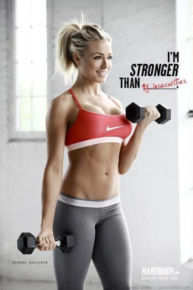 girls fitness models