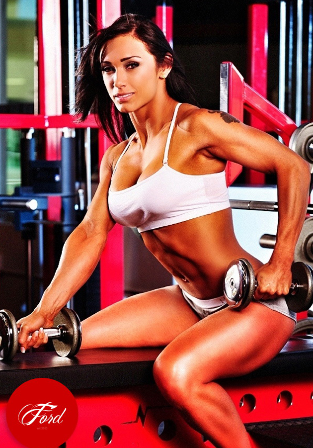 Monique Kabel - This WBFF Bikini Pro & Fitness Model TT