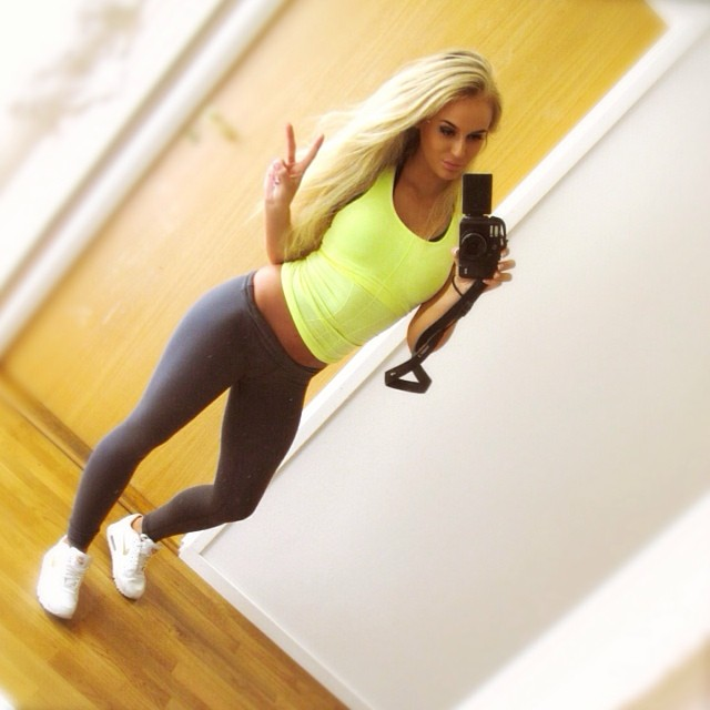 Anna Nystrom Pics This Swedish Fitness Models Best 56 Insta Pics