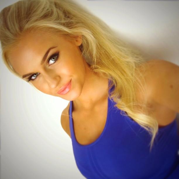 Swedish female model