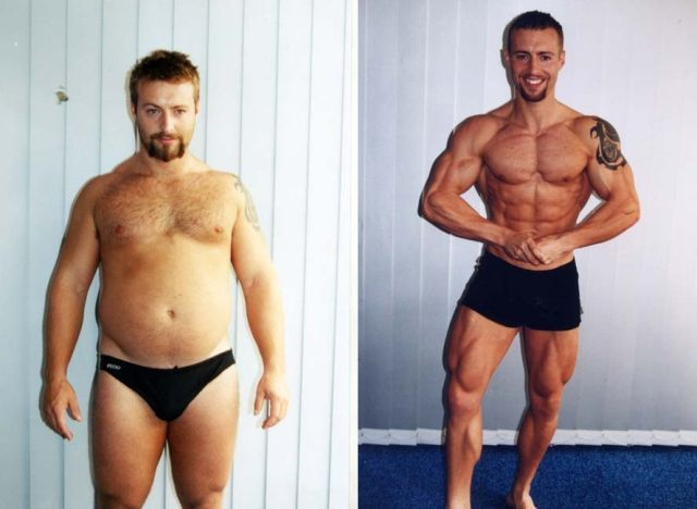 Male Fat Loss Transformations