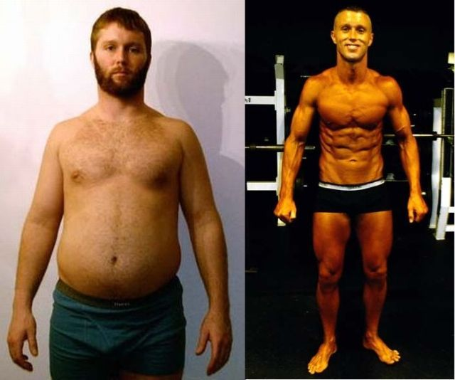 Male Weight Loss Transformations