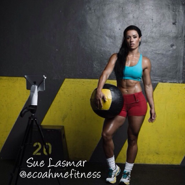 Sue Lasmar Fitness Model