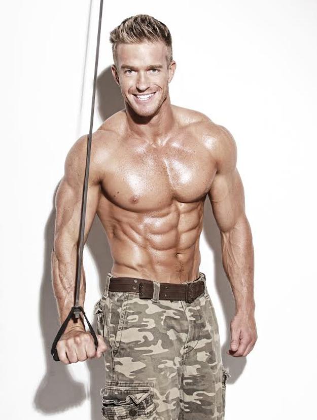 Male Fitness Model Workout James ellis fitness model