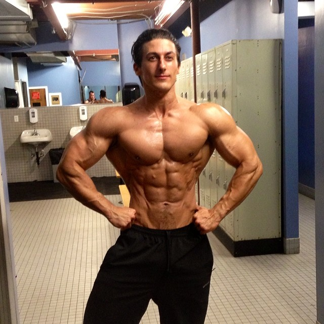 most muscular man on steroids