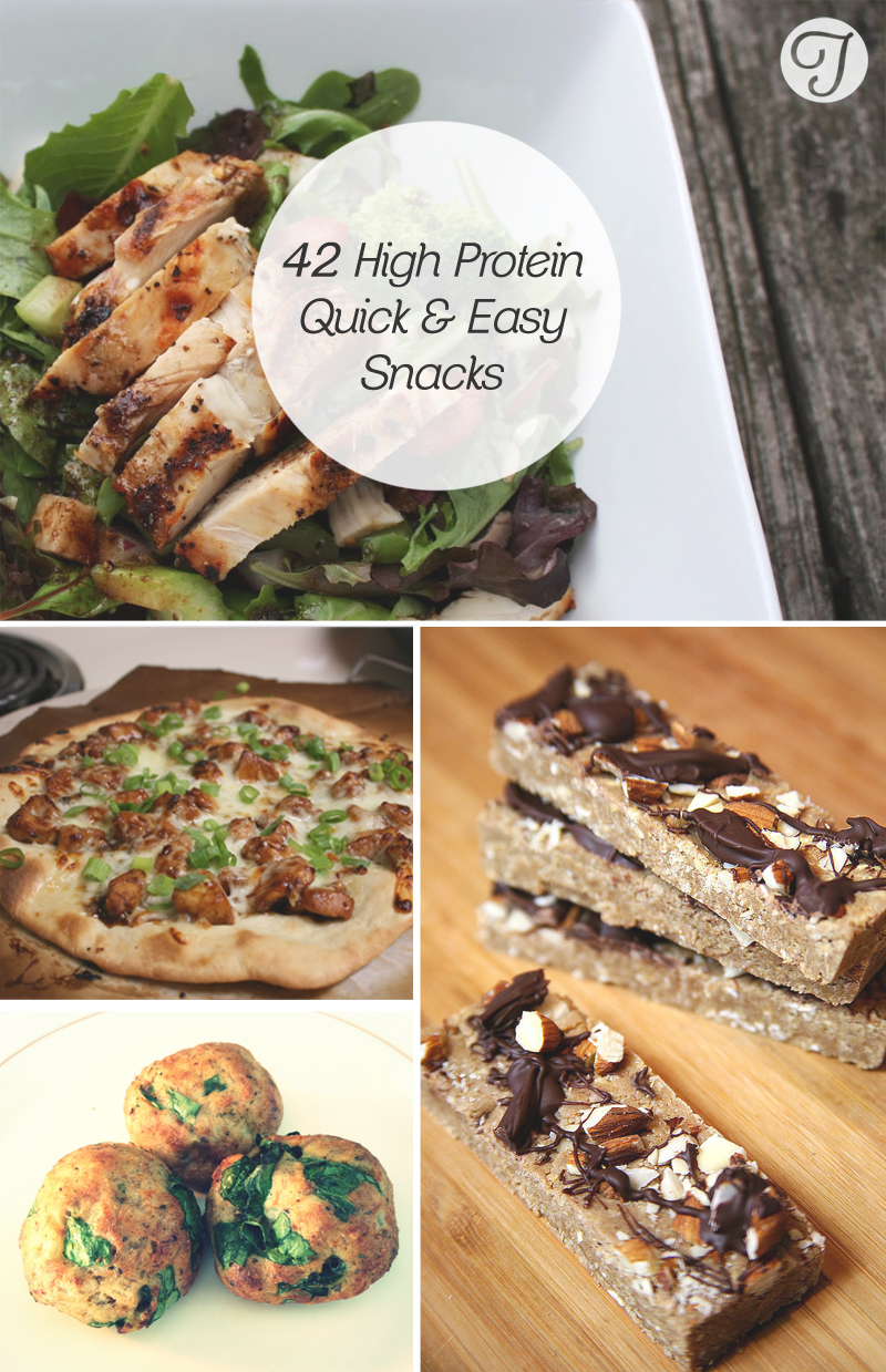 42 Delicious High Protein Snacks You Must Try