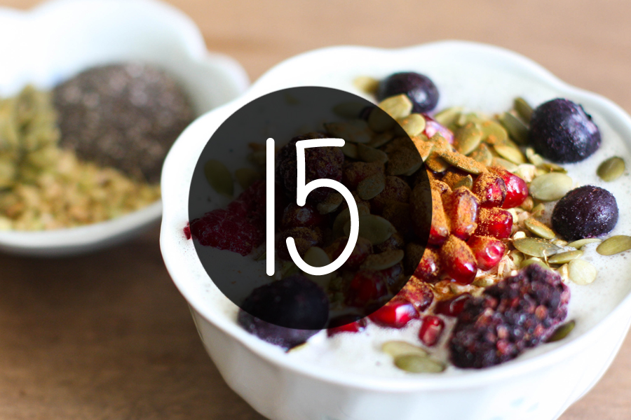 15 Clever Ways To Get More Antioxidants Into Your Diet!
