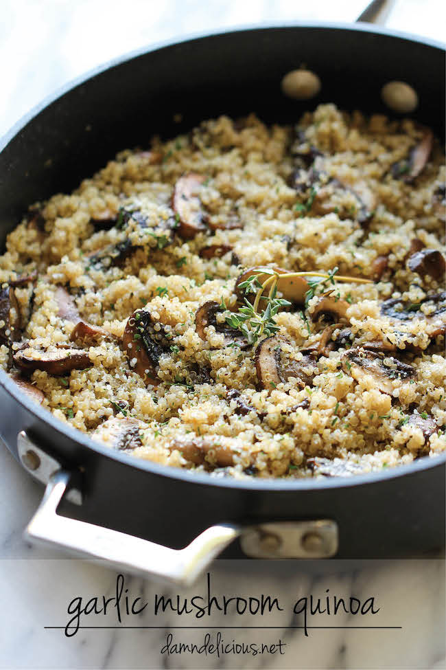 Slow Cooker Quinoa With Zucchini, Mushrooms And Chicken Sausage Recipe ...