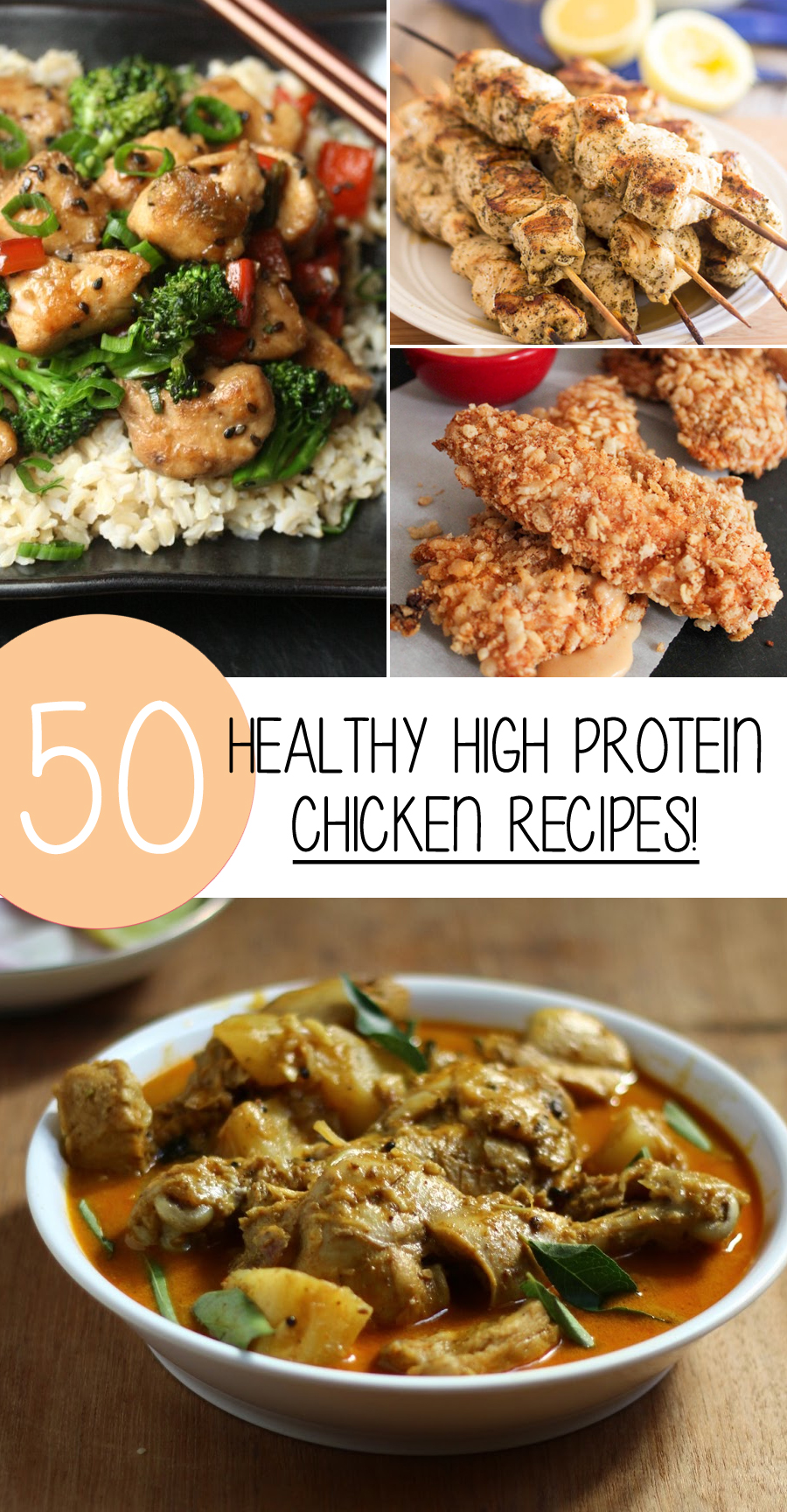 50 high protein chicken recipes that are healthy and delicious 50 healthy chicken recipes forumfinder