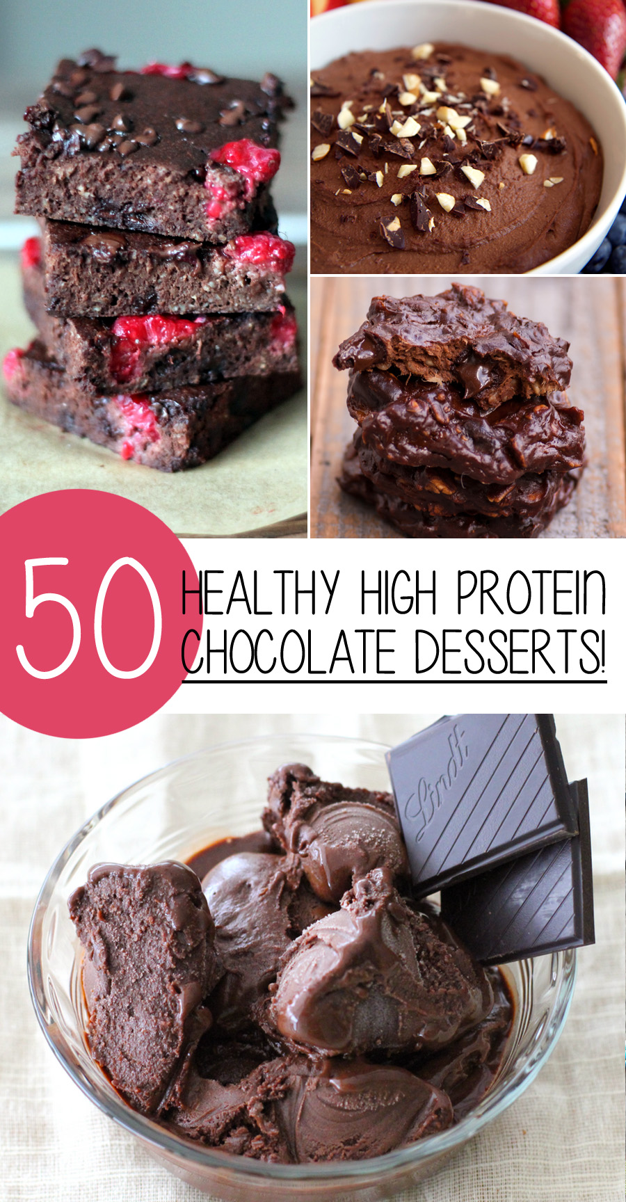 50 Healthy High Protein Chocolate Desserts You Will Love!