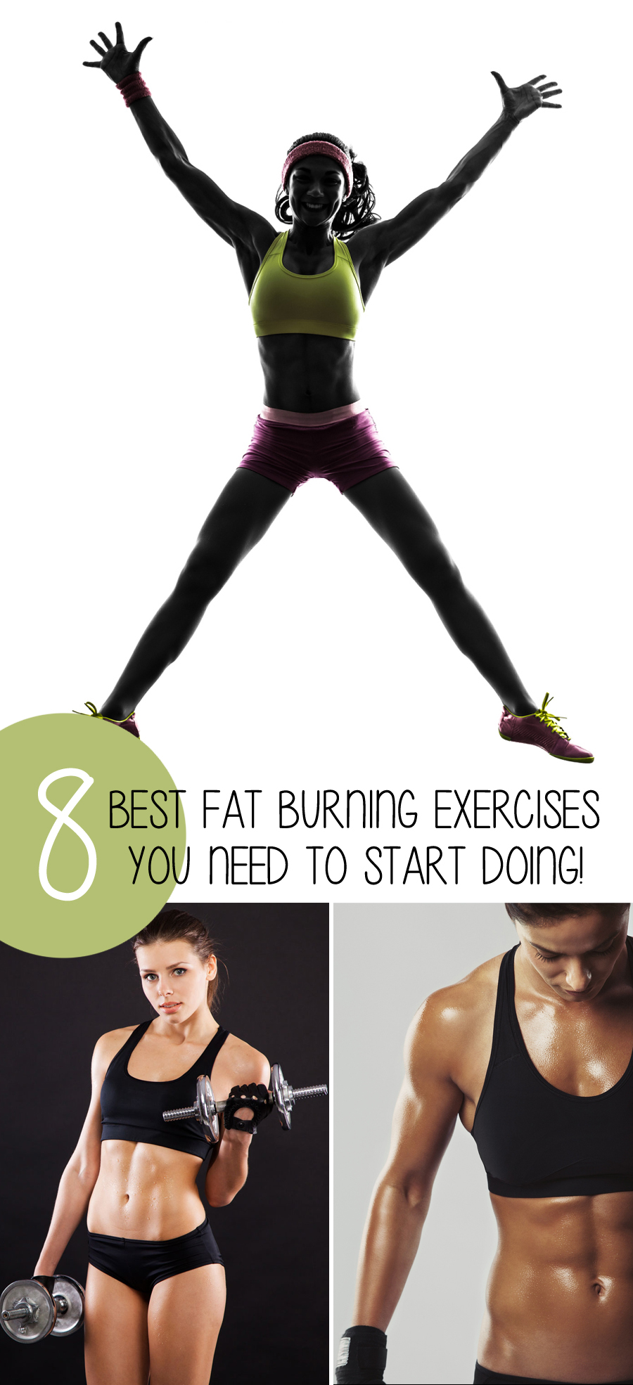 The 8 Best Fat Burning Exercises You Need To Start Doing ...