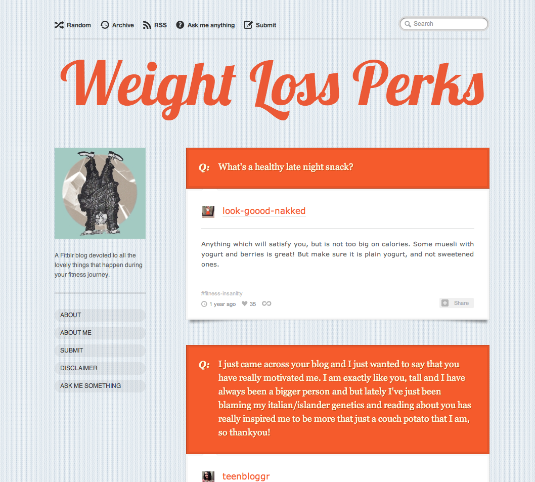 30 of the best weight loss tumblr blogs for motivation weightlossperkstumblr weight loss perks nvjuhfo Image collections