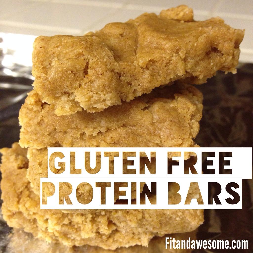 21. Gluten Free Protein Bar
