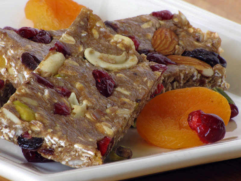 23. Fruit-Filled Protein Bar