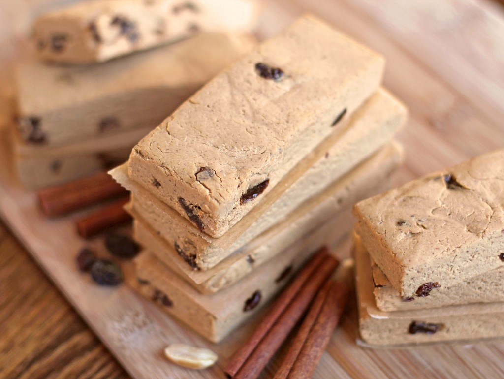 28. Cinnamon Raisin Peanut Butter Bar