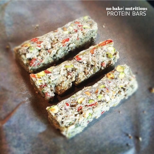 5. No Bake Granola Protein Bar