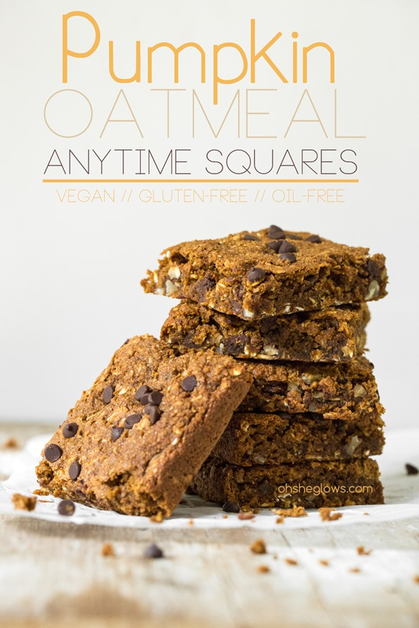 9. Pumpkin & Oatmeal Squares