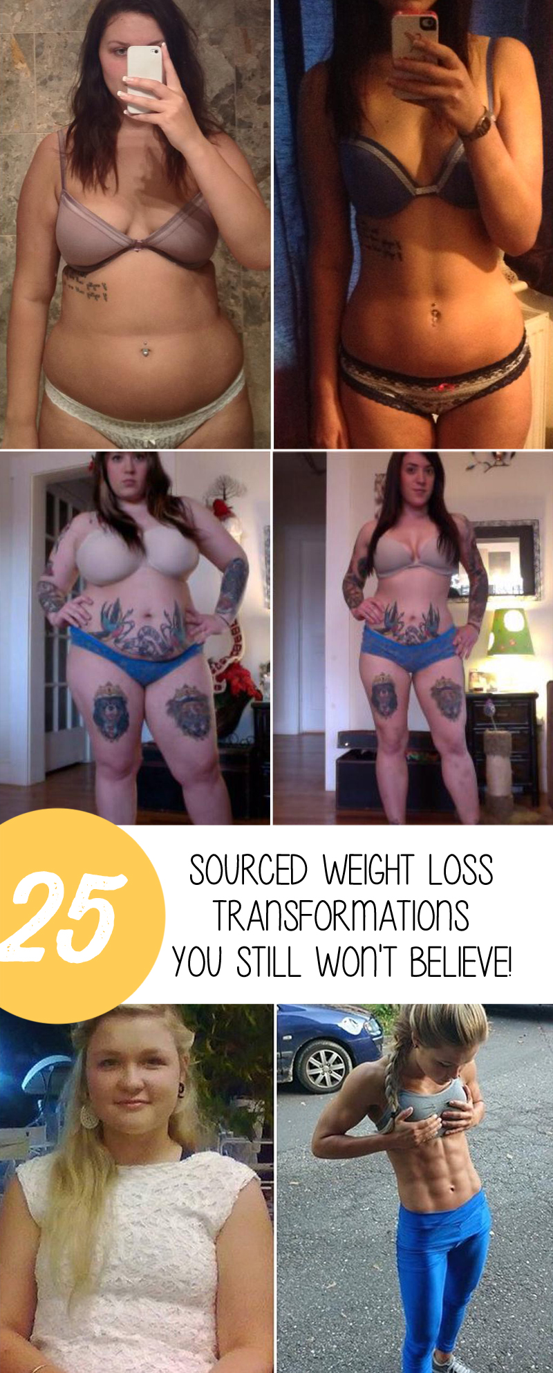 25SourcedWeightLossTransformations