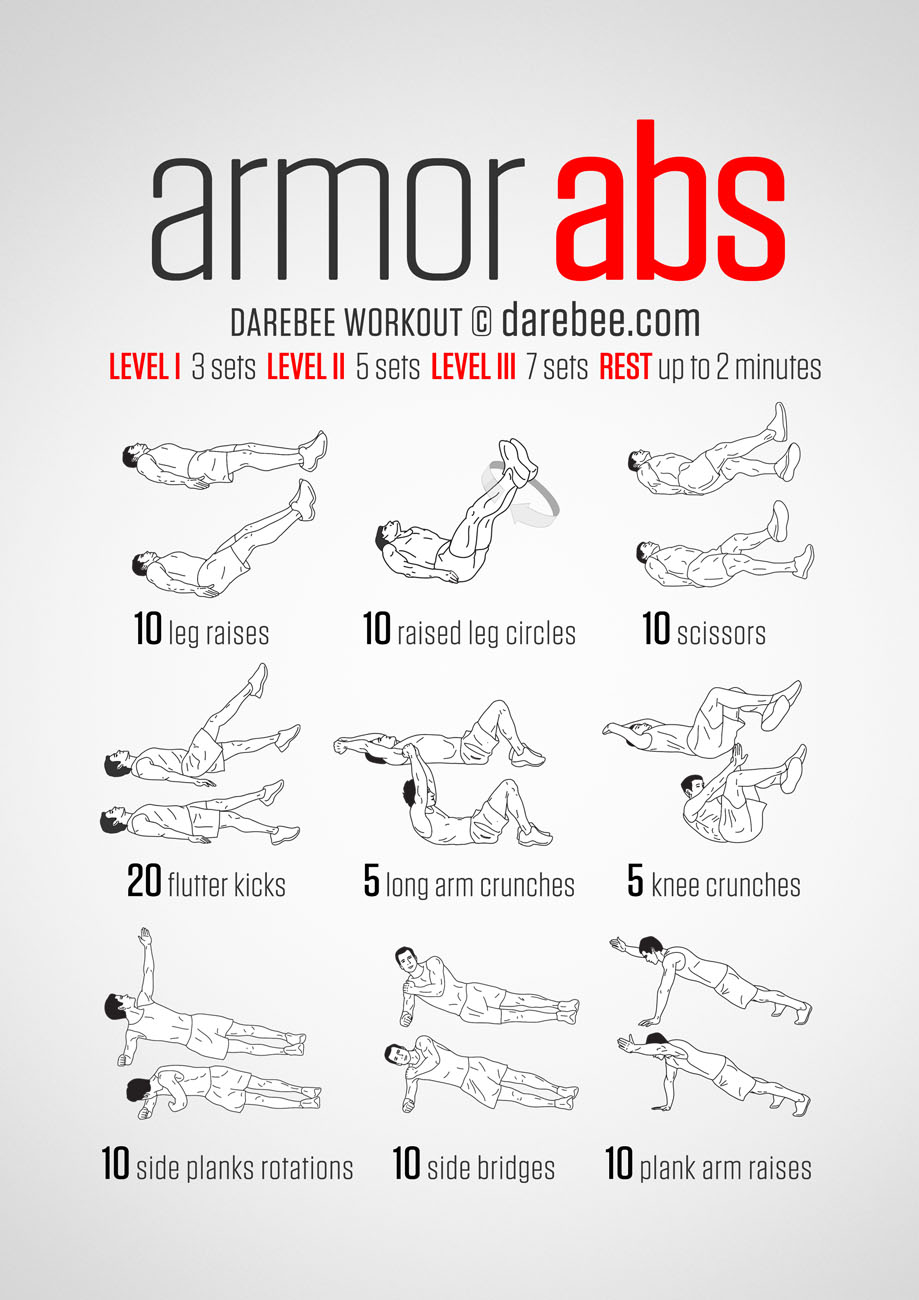 20 stomach fat burning ab workouts from for Floor ab workouts