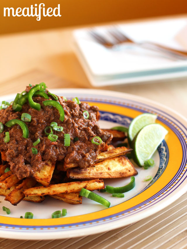 10. Chili Topped Parsnip