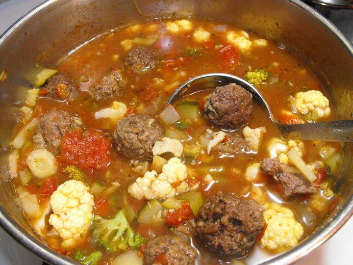 12. Meatball Soup