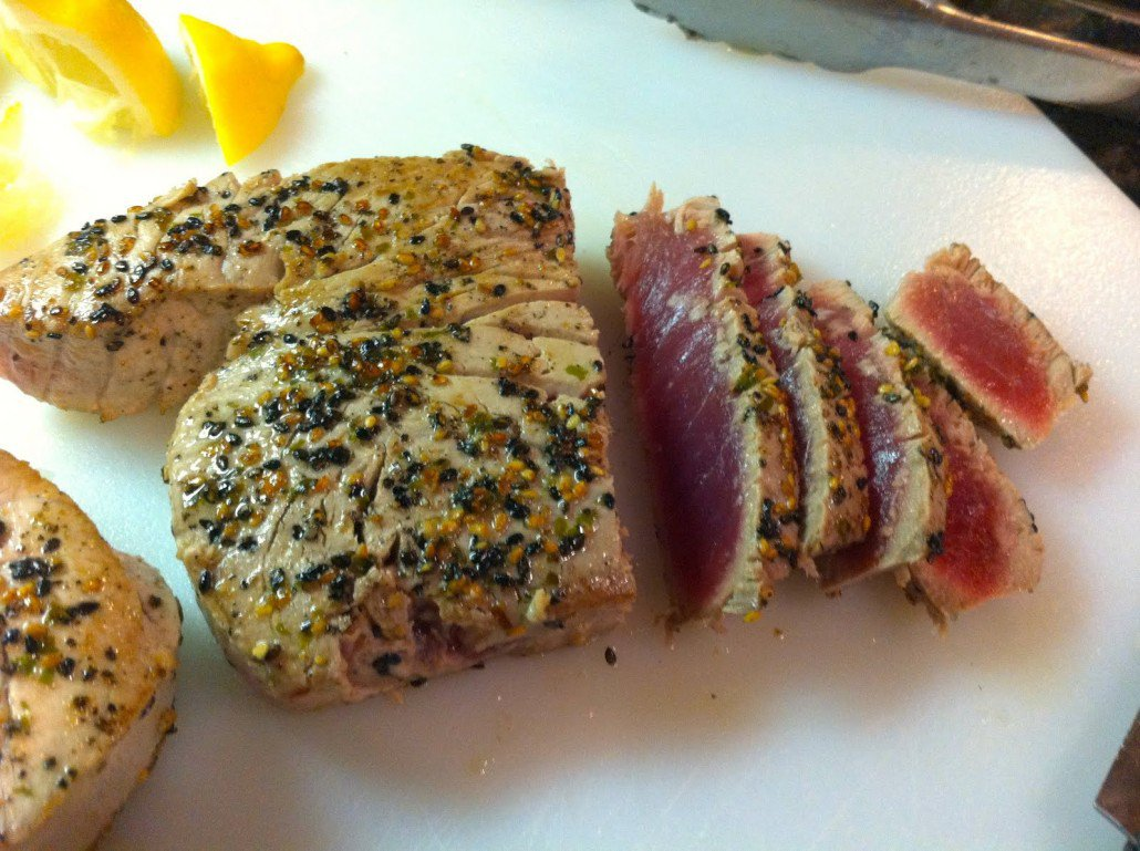 13. Seared Tuna