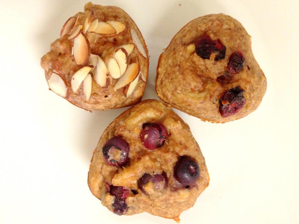 15. Almond Muffin