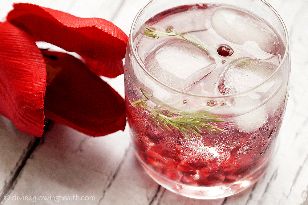 16. Pomegranate Rosemary