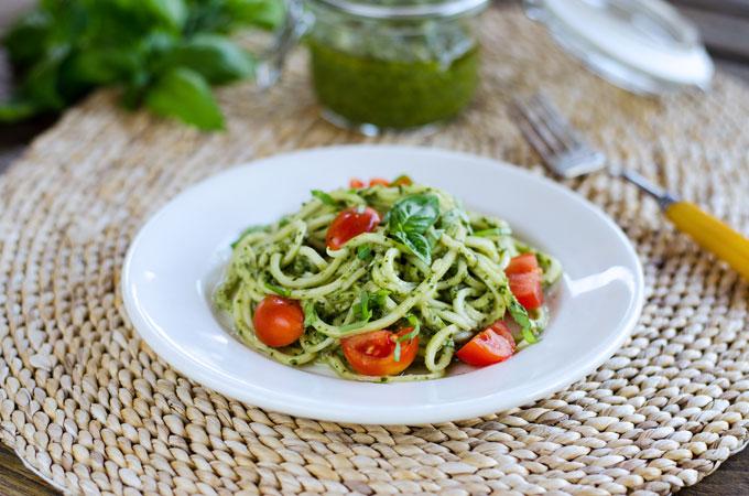 23. Zucchini Pesto