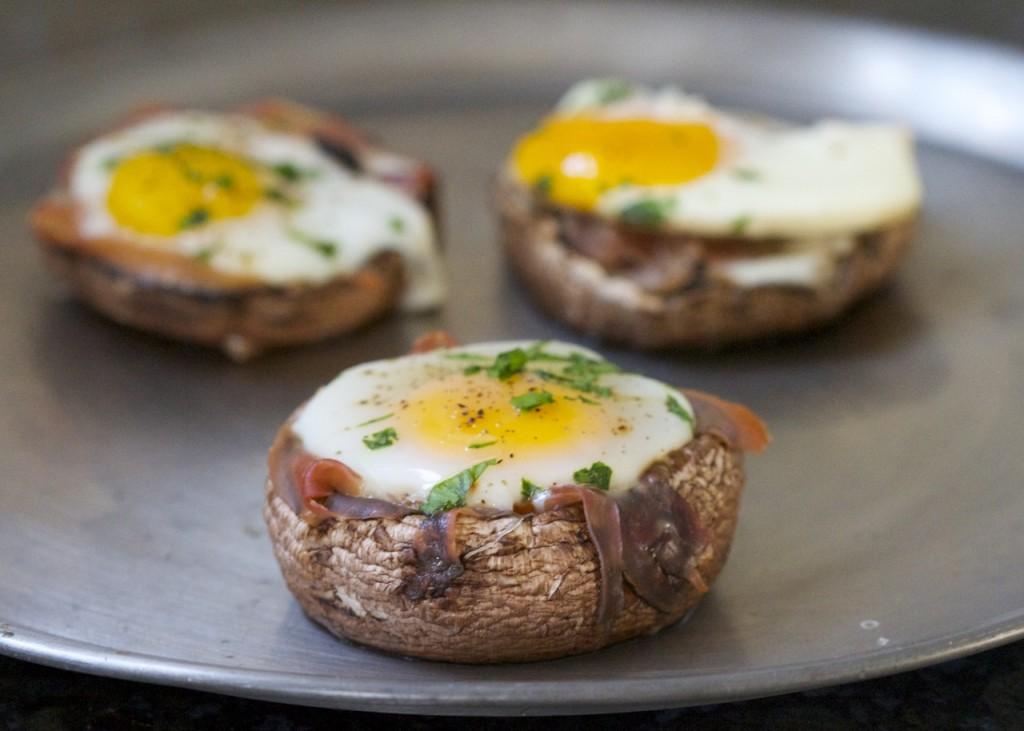 28. Egg & Mushroom