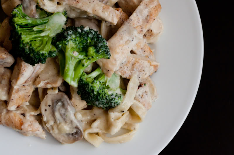 31. Chicken Fettucini