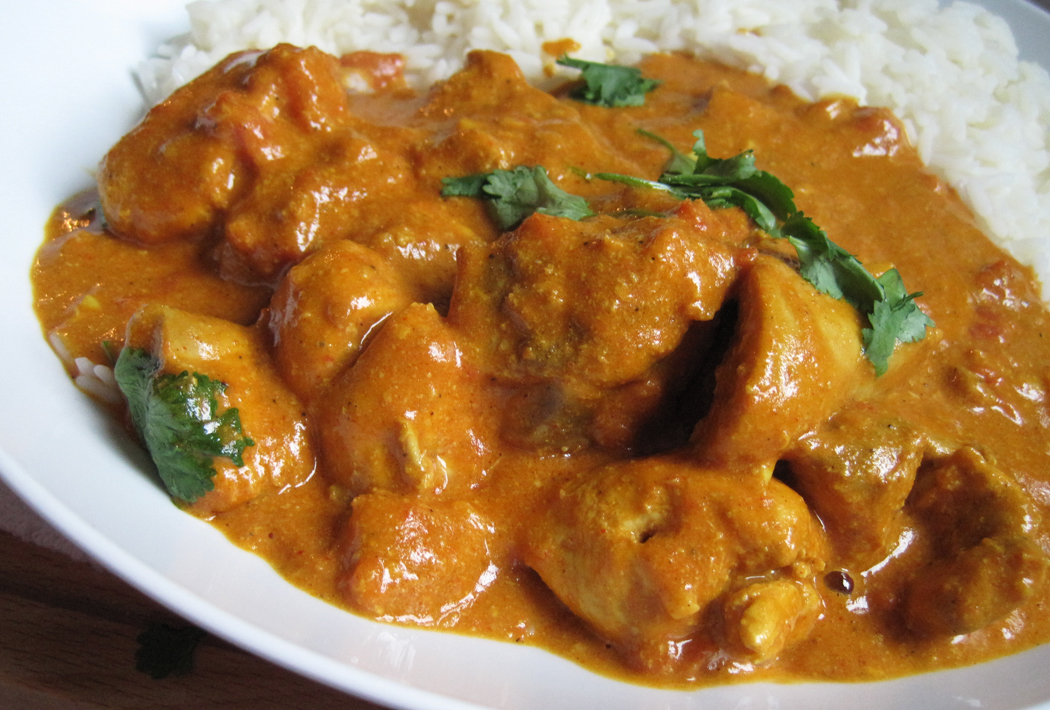 4. Chicken Curry