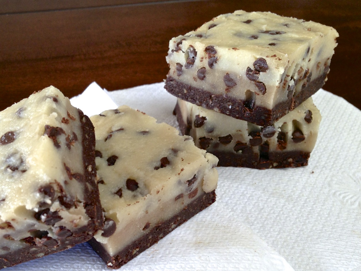44. Cookie Dough Brownie