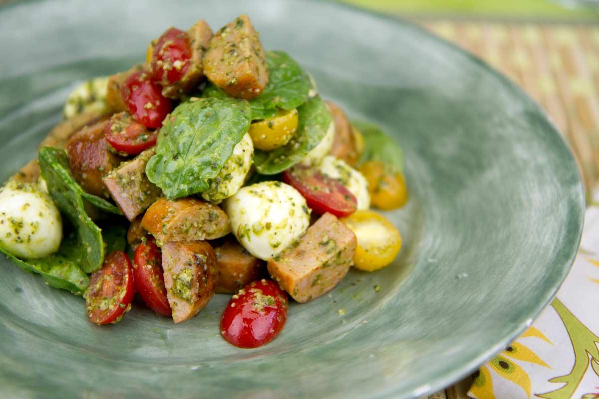 49. Sausage Salad