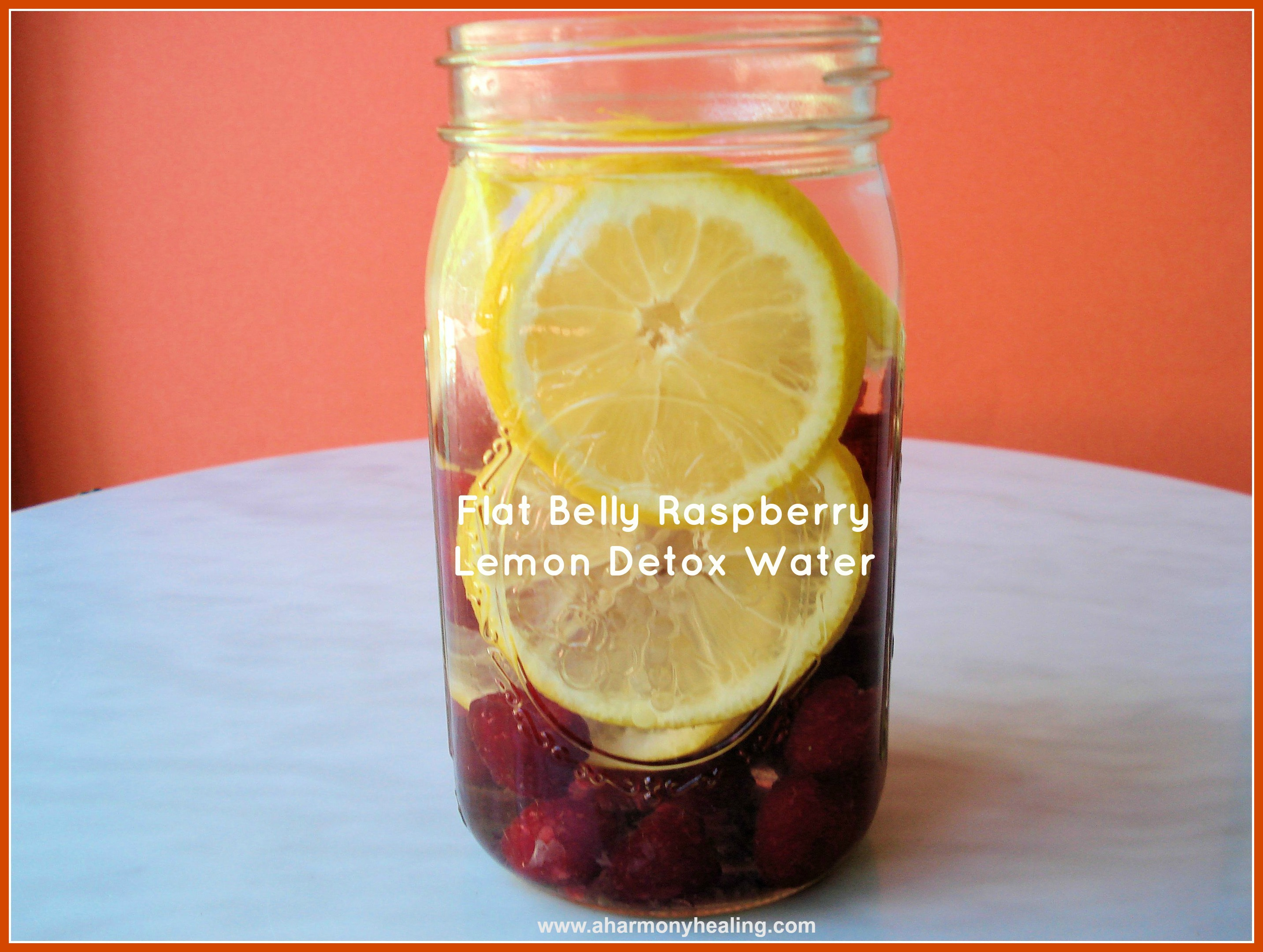 5. Flat Belly Raspberry & Lemon