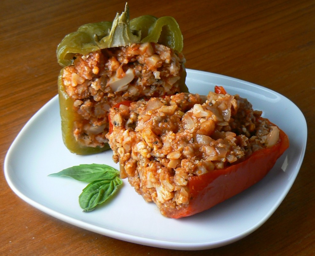 8. Sausage Stuffed Peppers
