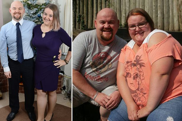20 couples who went through insane weight loss transformations