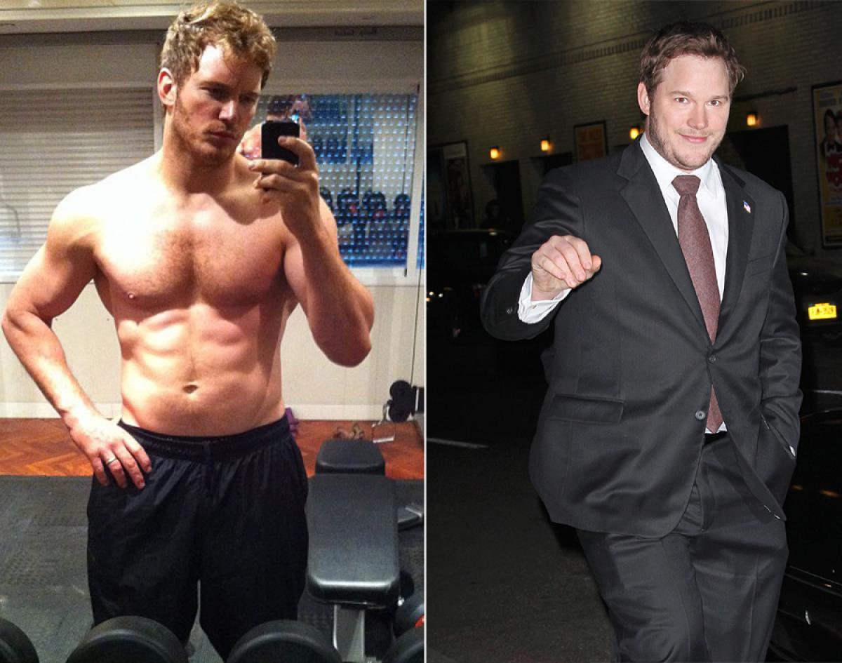 Chris Pratt Weight Loss 36 Amazing Cele...