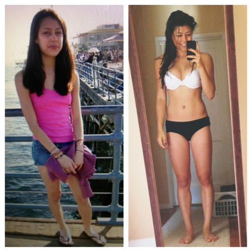 50 Incredible Skinny To Fit Female Muscle Gain Transformations A skinny fat body is caused by not having enough muscle to offset the small amount of body fat. 50 incredible skinny to fit female