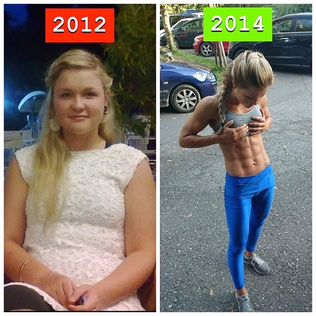 20 Female Weight Loss Before And Afters Ending In Ripped 6
