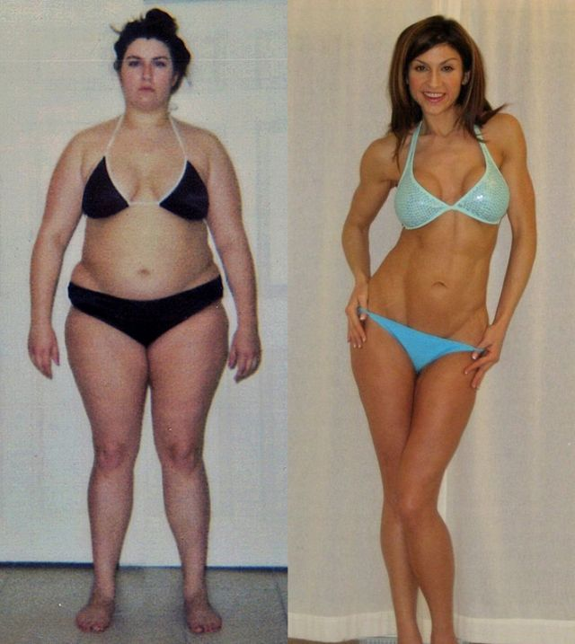 20 Female Weight Loss Before And Afters Ending In Ripped 6 ...