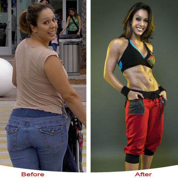 20 Female Weight Loss Before And Afters Ending In Ripped 6 Pack Abs!