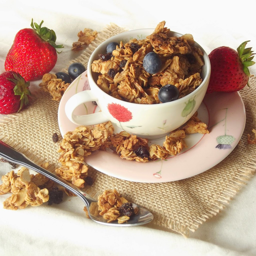 1. Maple Bourbon Granola