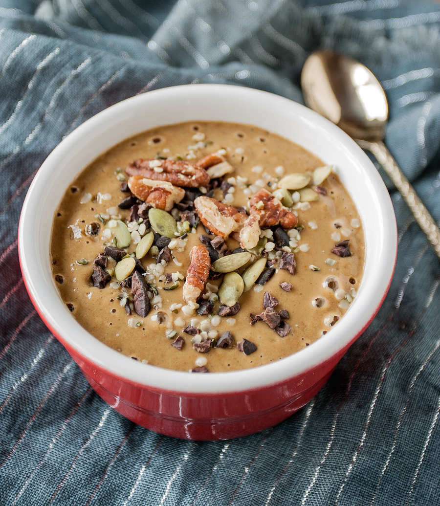 10. Butternut Molasses Smoothie Bowls